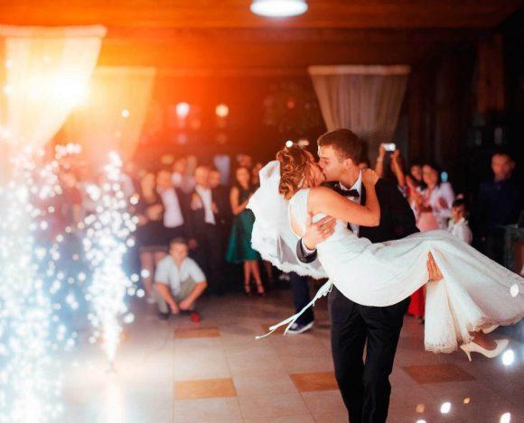 festa de casamento com consorcio